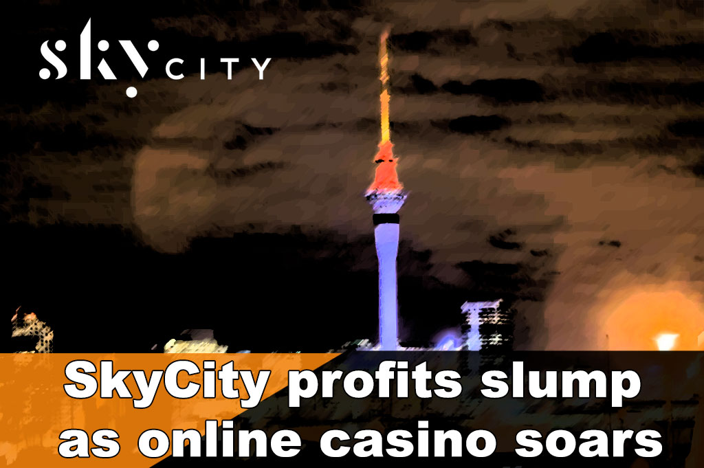 SkyCity Auckland profits slump as online casino soars